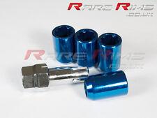 Blue Tuner Locking Nuts x4 12x1.5 Fits Mazda Mx3 Mx5 Mx6 Rx7 RX8 3 6 5 MPS