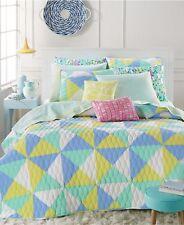 MARTHA STEWART - Kaleidoscope Bright Green Twin/Twin XL Quilt
