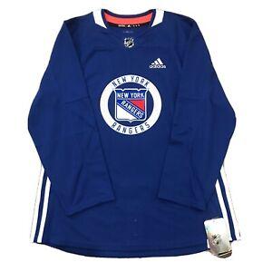 Adidas New York Rangers Henrik Lundqvist Authentic Practice Jersey Men's Size 46