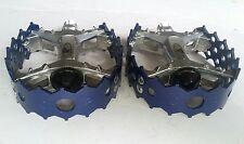 Vintage Custom Blue 9/16 SUNTOUR XC II CRUPI Old School BMX Racing Pedals SE GT