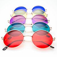 John Lennon  Vintage Retro Classic Circle Color Round Sunglasses Men Women  S