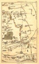 THURROCK. Aveley,Cranham,Ockendon,Grays,Stifford,Upminster,Lakeside 1786 map