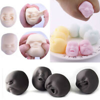 Human Face Emotion Vent Ball Anti Stress Toy Squeeze Relief Healthy Funny Toy