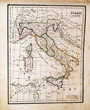 1840: ITALIE ANCIENNE - ITALIA ANTICA_Atlas Universale.Geografico_Felice.POTEL..