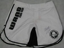 WANDERLEI SILVA Hand Signed Fight Trunks Shorts  UFC PRIDE * BUY GENUINE *