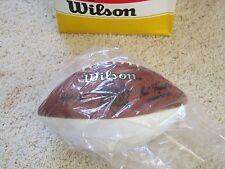 WILSON Super Bowl 29 XXIX 3 panel white football for autographs SF 49ers MVP HOF