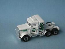 Lesney Matchbox Convoy Peterbilt Truck White Ace Green Tampo