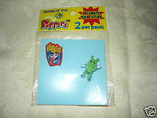 Poppers Shoe/Notebook Charms 2 Pk Fries &  Alien NEW