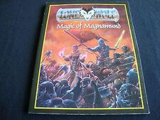 LONE WOLF MAGIC OF MAGNAMUND RPG ROLE PLAYING JOE DEVER