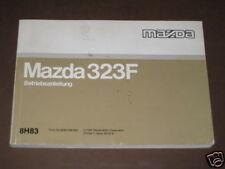 Betriebsanleitung Mazda 323 F von 1995