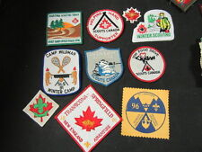 Scouts Canada 31 Patches -- Insignia, Activity, Etc.     FX