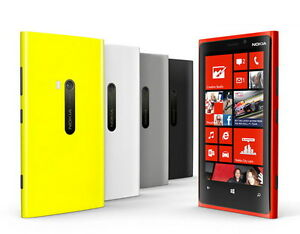 "Nokia Lumia 920Windows GSM 32GB Unlocked Smartphone 4.5"" 4G LTE Touch Screen"