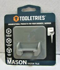 Tooletries The Mason Razor Tile Organizational Products for your Shower / Mirror