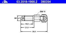 Entlüfterschraube/-ventil - ATE 03.3518-1900.2