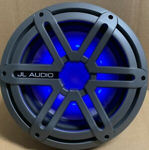 "JL Audio 10"" Marine Subwoofer Titanium Sport Grille w/ Blue LED  MX10IB3 Replace"