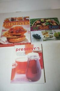 Home Preserving Books 3 new top quality Books