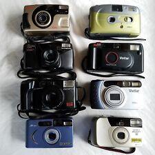 Lot of 8 cameras EXAKTA OLYMPUS NY TECH POLAROID VIVITAR YASHICA 35MM 38MM 70MM