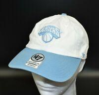 New York Knicks '47 Brand NBA Women's Light Blue & White Strapback Cap Hat