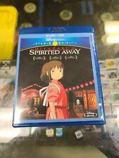 New listing Studio Ghibli - Spirited Away (Blu-ray + Dvd) English Version
