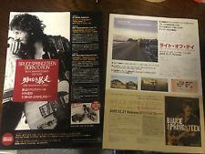 BRUCE SPRINGSTEEN Born to Run 30th Anniv. Japan 2005 flyer mini-poster MINT RARE