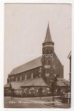 St Lukes Church Wimbledon Park London 1914 RP Postcard 891b