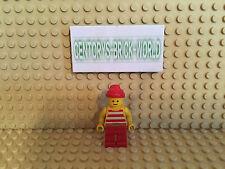 LEGO® Figur Minifig Pirate Red/White Stripes #PI046 Set 6267 6255