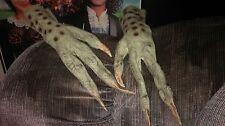Don Post Gremlins Movie Monster Alien Creature Hands Halloween Costume Mask Prop