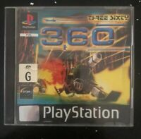 360 Three Sixty - Playstation 1 Game PS1- PAL Complete With Manual