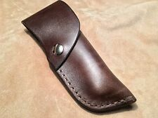 Custom Leather Sheath for BUCK 110 Knife Sheath. Sheath ONLY