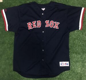 Vintage Garciaparra Red Sox Jersey XL