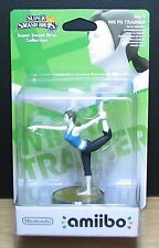 AMIIBO - No. 8 WII FIT TRAINER - SUPER SMASH BROS. - NINTENDO - NUOVO SEALED