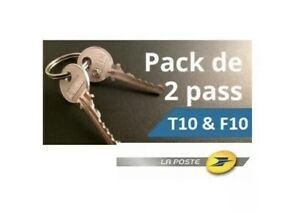 🔑 Clés PTT T10 & F10 (usage la poste)