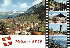 BR1798 France Plateau d´Assy la Chaine des Aravis Mont Blanc