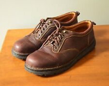 BORN Men's 11.5M Handcrafted Brown Leather Oxford Lace-Up Shoes