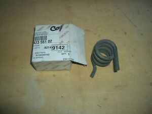 PORSCHE 911 87-89 G50 CLUTCH PEDAL RETURN SPRING no longer available 91142355102