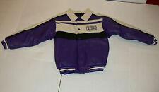 NBA Los Angeles Lakers Yinyl Jacket Youth Medium Size 12-14 Vintage Brand New