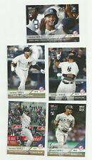 (5) LOT 2018 TOPPS NOW YANKEES GLEYBER TORRES RC NM-MT  LIMITED PRINT RUNS  HOT