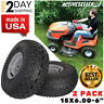 """2 Pack 15x6.00-6"""" Front Tire Assembly Replacement For Craftsman Riding Mowers #1"""