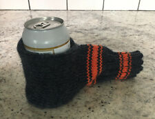 Suzy Beer Mitt, Knit Beverage Insulating Koozie, Beer Glove Drink Cold Hand Warm