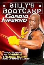 Billy Blanks Tae Bo EXERCISE DVD Billy's Bootcamp Cardio Inferno
