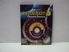 DISCO DIAMANTATO PER  uso generale  Ø 115  CUTS DIAMANT COD. CD 105