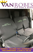 Citroen Berlingo Van (08 on). Tailored Seat Covers. With Free Embroidery