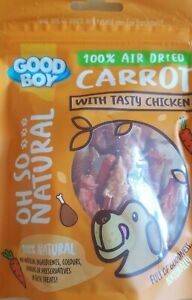 Good Boy PREMIUM 100% Air Dried Carrot With Tasty Chicken 100% natural 85g