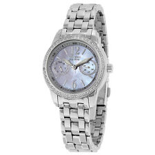 Citizen Silhouette Eco-Drive Mother Of Peral Dial Quartz Ladies Watch-AU