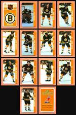 Renaissance 1982-83 Ray Bourque Boston Bruins Team Set 14 Souhaits Mini