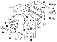 LAND ROVER LR059944 GENUINE OEM CENTER COVER