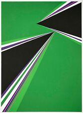 Rita Letendre: Electric Dreams, 1969. Signed, Limited Edition, Fine Art Print.
