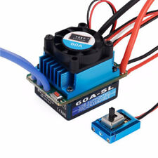 Waterproof 60A ESC Brushless Speed Controller 2-3S for 1/12 1/10 RC Car Truck
