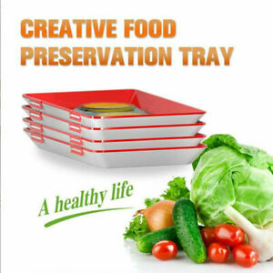 Creative Food Preservation Tray Holder Healthy Kitchen Tools Storage Container
