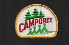 "CAMPOREE BSA  BOY SCOUT  PATCH  3"""